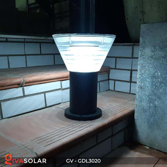 Đèn trụ sân vườn năng lượng mặt trời GV-GDL3020 15