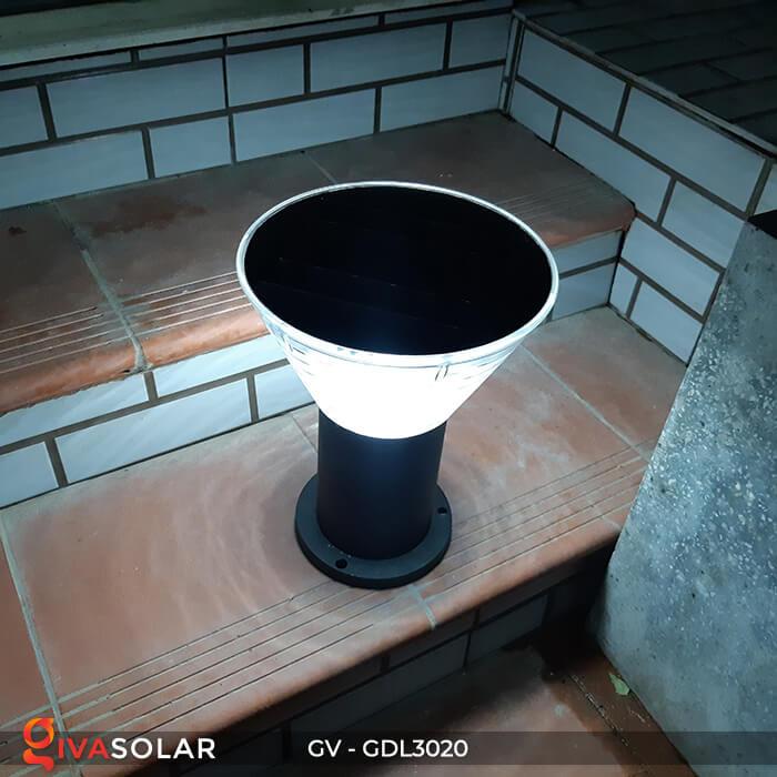 Đèn trụ sân vườn năng lượng mặt trời GV-GDL3020 16