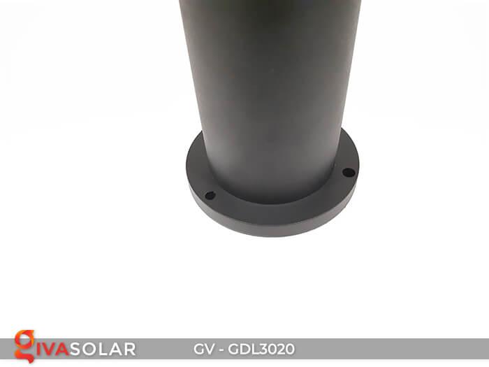 Đèn trụ sân vườn năng lượng mặt trời GV-GDL3020 18