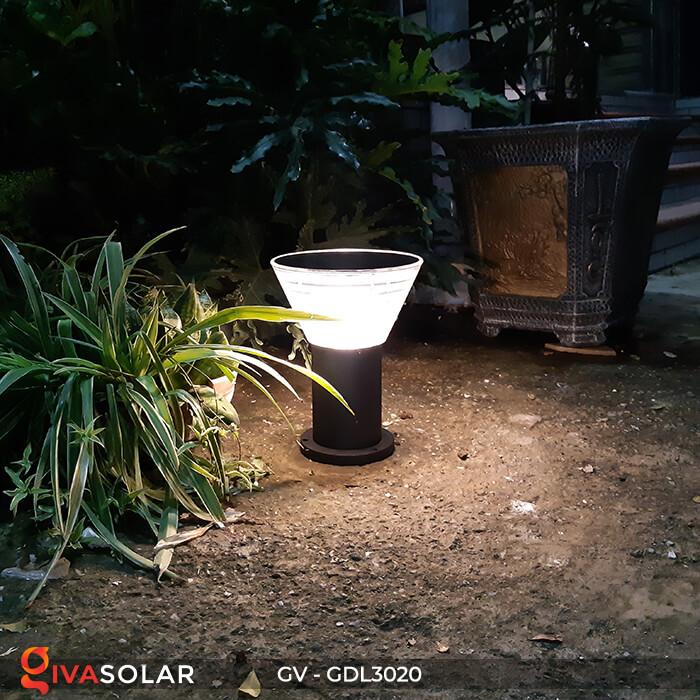 Đèn trụ sân vườn năng lượng mặt trời GV-GDL3020 2