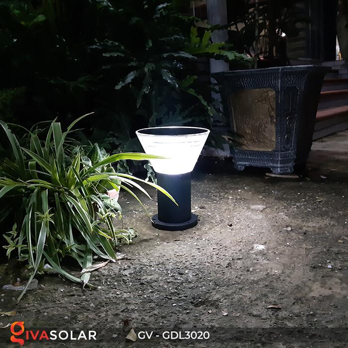Đèn trụ sân vườn năng lượng mặt trời GV-GDL3020 3