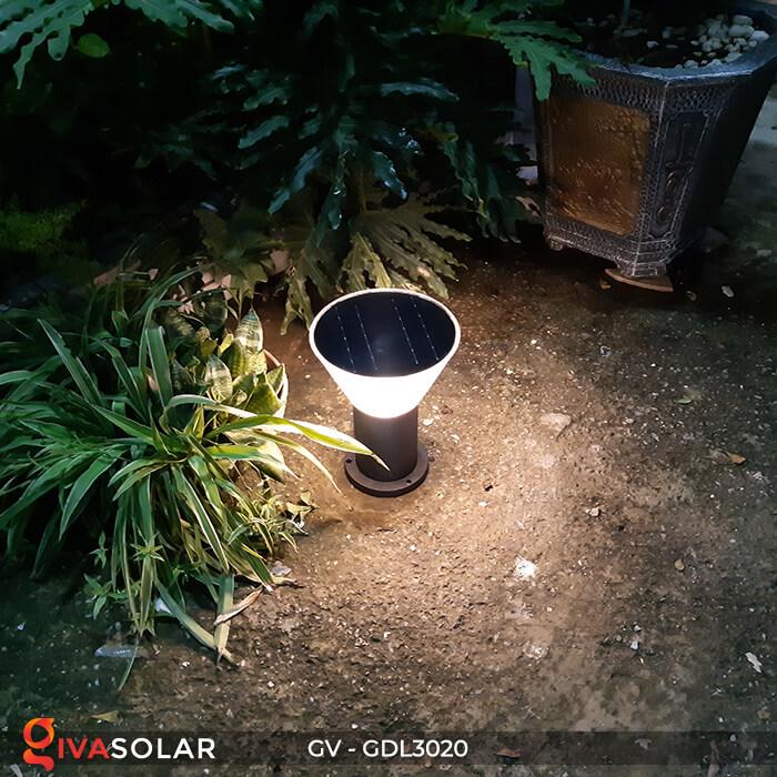 Đèn trụ sân vườn năng lượng mặt trời GV-GDL3020 4