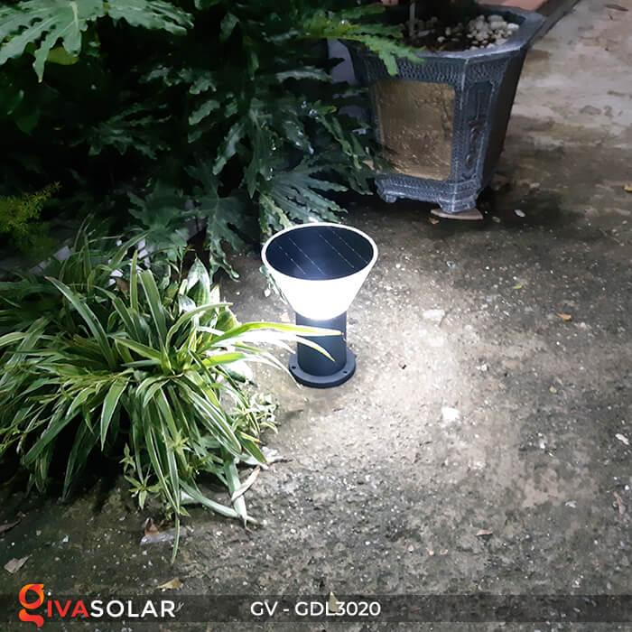 Đèn trụ sân vườn năng lượng mặt trời GV-GDL3020 6