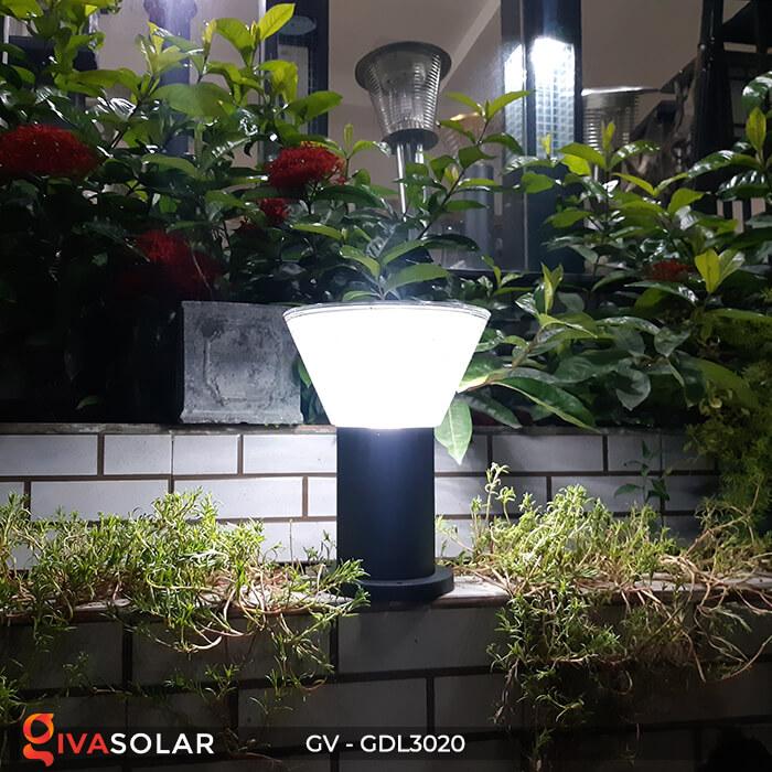 Đèn trụ sân vườn năng lượng mặt trời GV-GDL3020 7