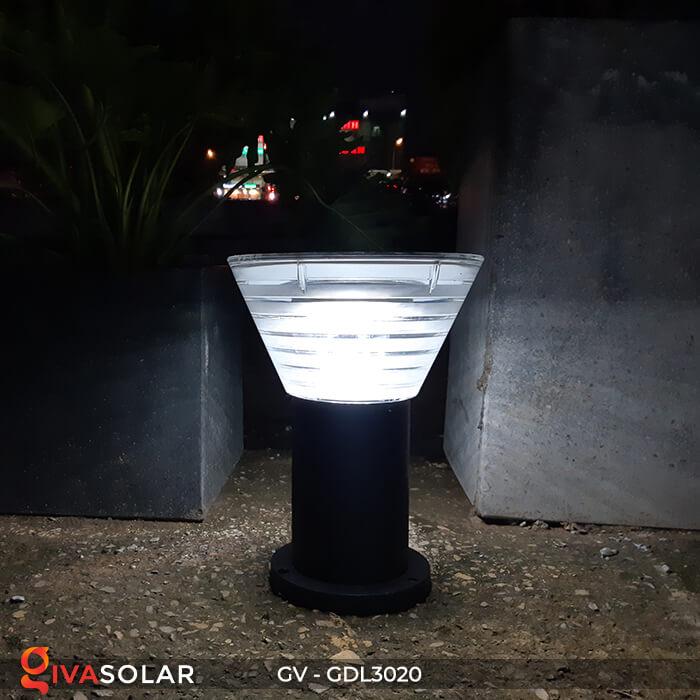 Đèn trụ sân vườn năng lượng mặt trời GV-GDL3020 9