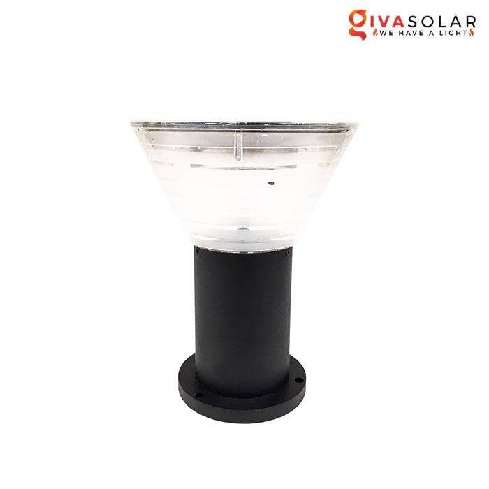 Đèn trụ sân vườn năng lượng mặt trời GV-GDL3020