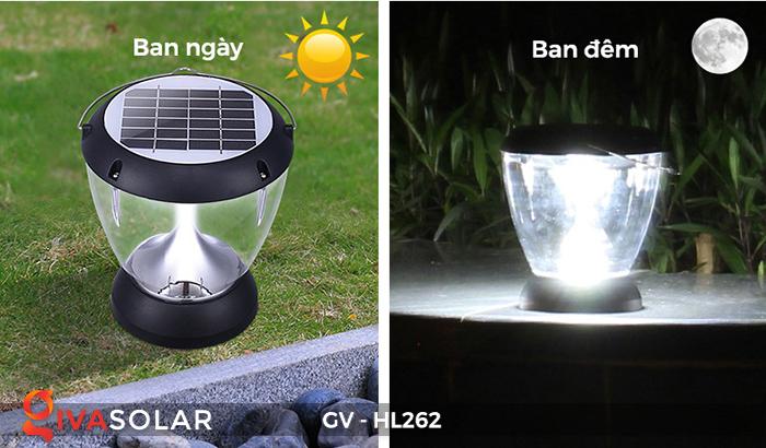 Đèn sạc xách tay năng lượng mặt trời GV-HL262 1