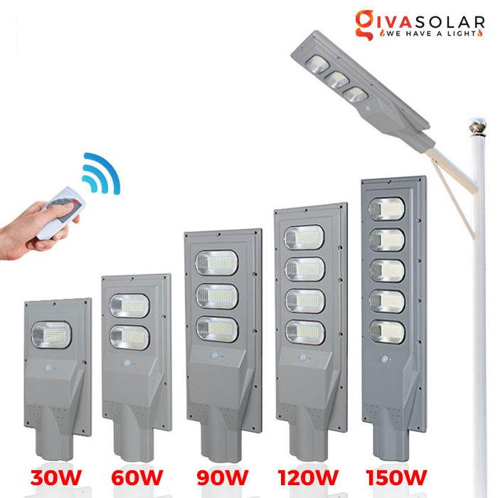 Đèn đường năng lượng mặt trời GV-SL0845