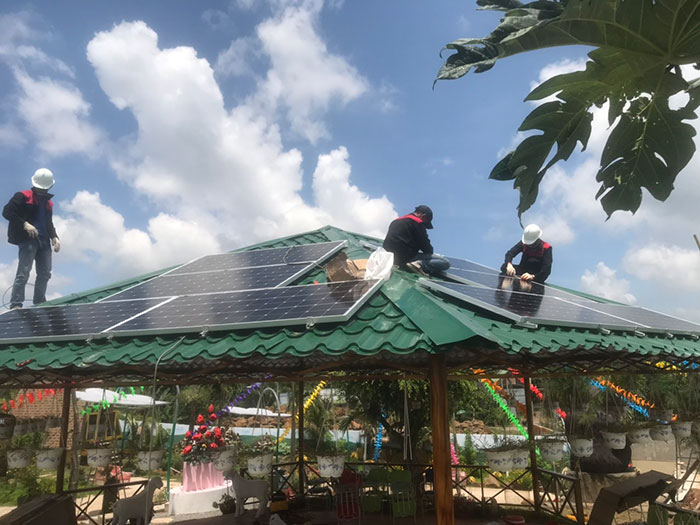 Lắp đặt hệ thống 12KW cho một Homestay ở Đồng Nai 7
