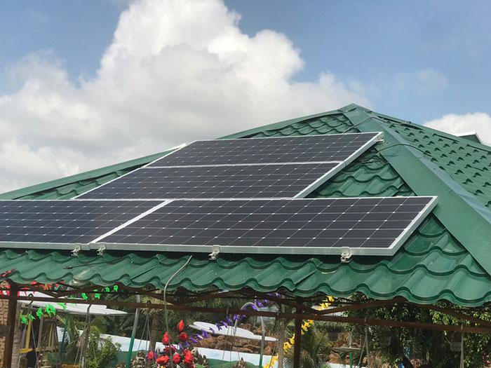Lắp đặt hệ thống 12KW cho một Homestay ở Đồng Nai 8