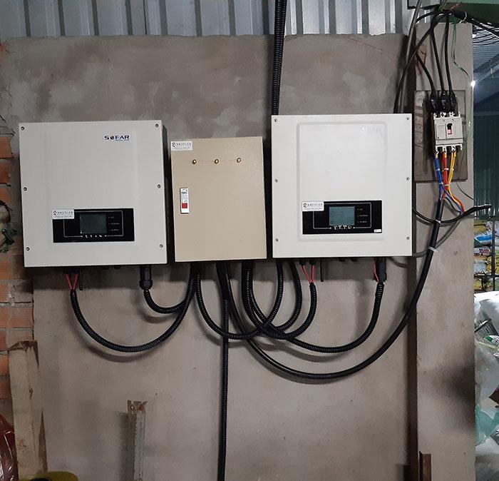 Lắp đặt hệ thống 20KW cho Nhà máy sản xuất bao bì ni lông ở Bình Chánh 17