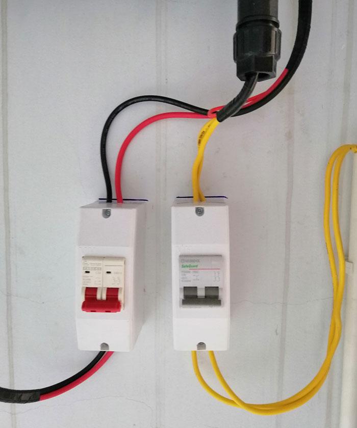 Lắp đặt hệ thống 3 KW tại Quận 10 TPHCM 5