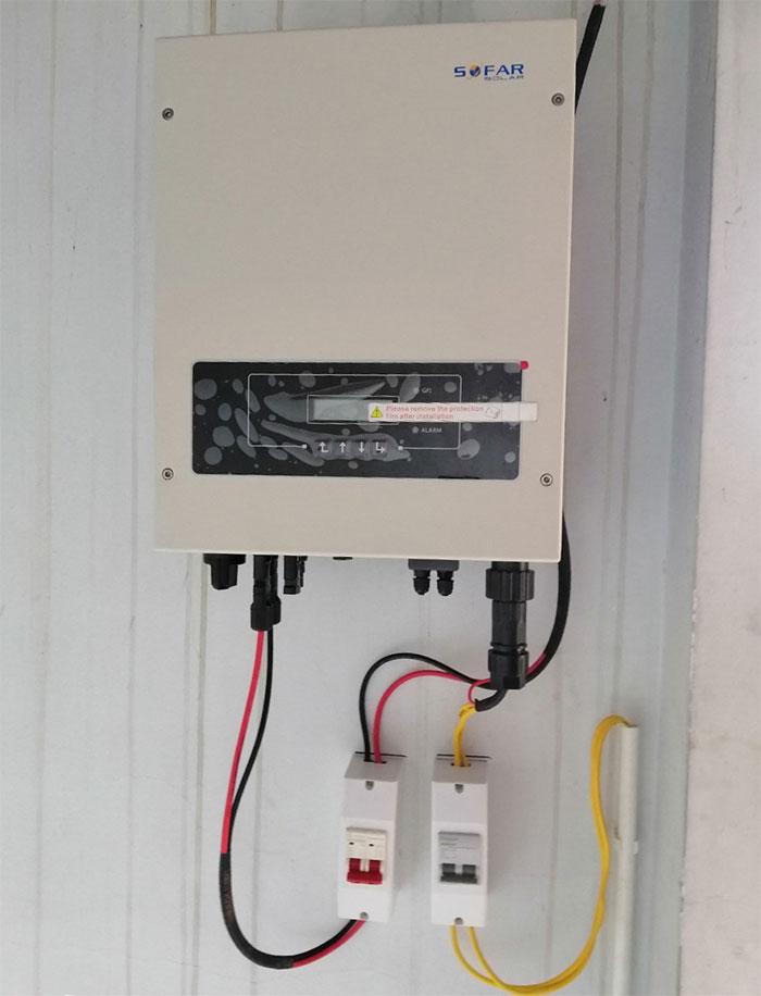 Lắp đặt hệ thống 3 KW tại Quận 10 TPHCM 6