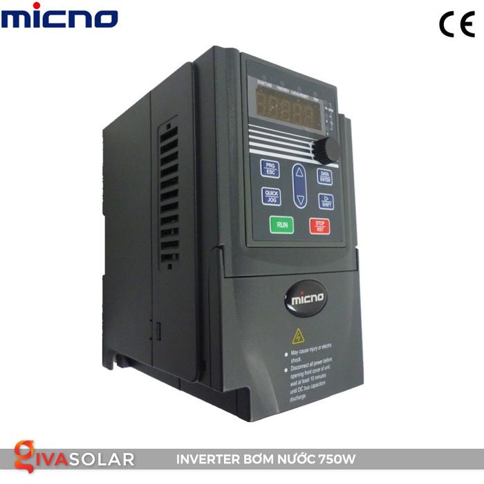 Biến tần cho hệ thống bơm nước điện mặt trời 750W 3