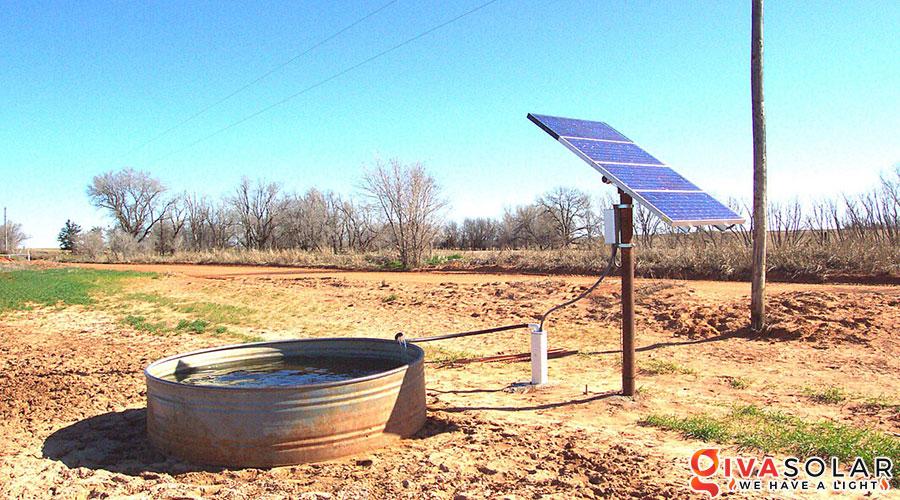 Hệ thống bơm nước bằng năng lượng mặt trời 2HP 2