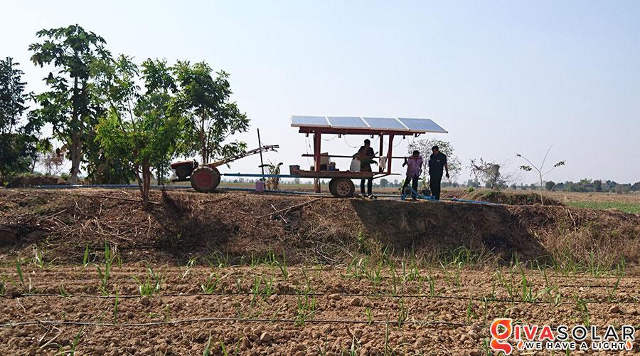 Hệ thống bơm nước bằng năng lượng mặt trời 2HP 3