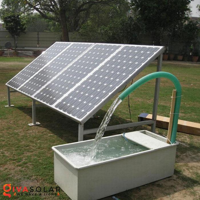 Hệ thống bơm nước bằng năng lượng mặt trời 2HP 1