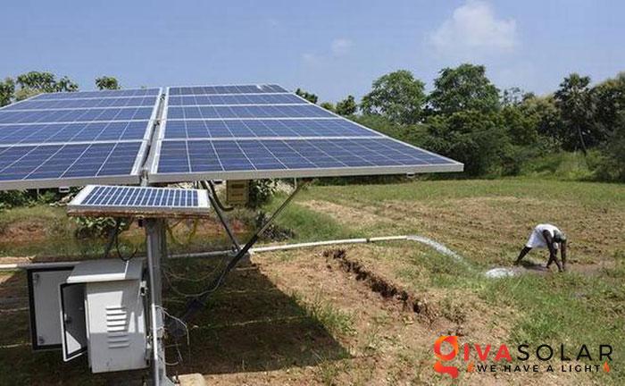 Hệ thống bơm nước điện năng lượng mặt trời 7HP 3