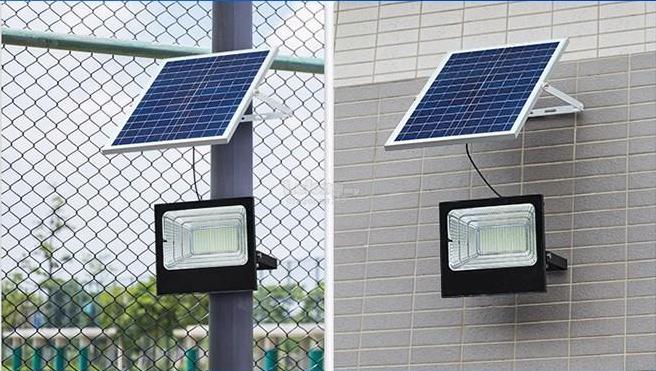Lý do nên sử dụng đèn pha năng lượng mặt trời để bảo vệ an ninh ngoài trời 1
