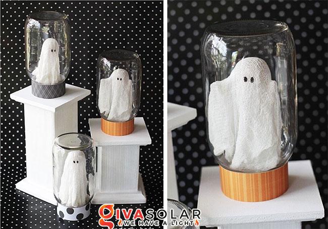 Ý tưởng trang trí Halloween độc đáo với lọ thủy tinh 14