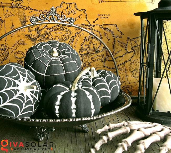 ý tưởng trang trí và khắc bí ngô đáo đáo cho lễ Halloween 1