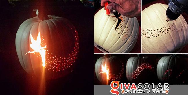 ý tưởng trang trí và khắc bí ngô đáo đáo cho lễ Halloween 10