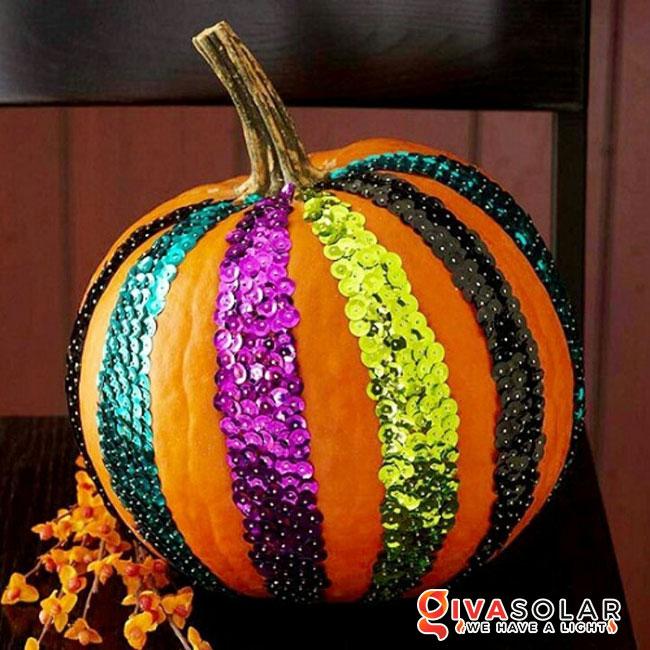 ý tưởng trang trí và khắc bí ngô đáo đáo cho lễ Halloween 14