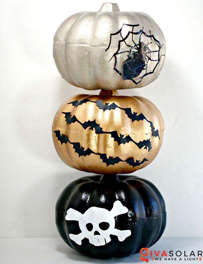 ý tưởng trang trí và khắc bí ngô đáo đáo cho lễ Halloween 17