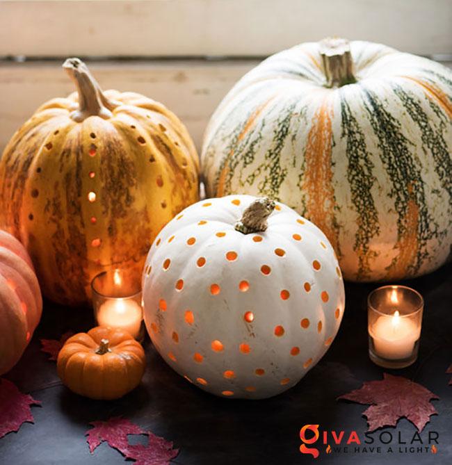 ý tưởng trang trí và khắc bí ngô đáo đáo cho lễ Halloween 2