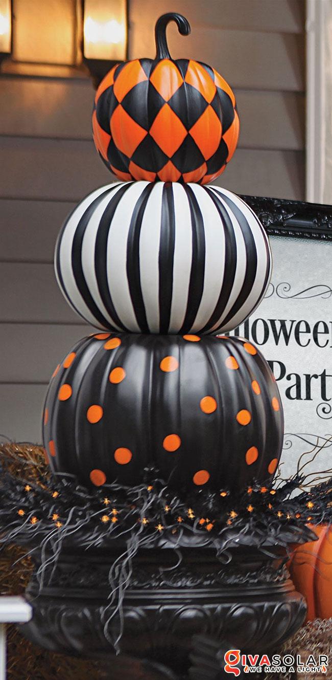 ý tưởng trang trí và khắc bí ngô đáo đáo cho lễ Halloween 21