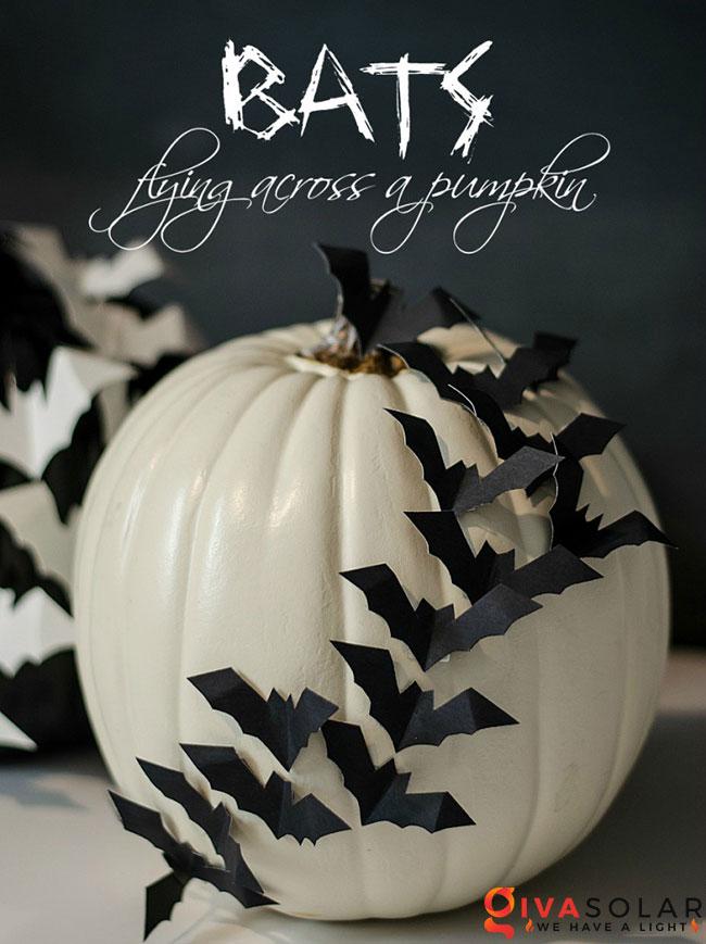 ý tưởng trang trí và khắc bí ngô đáo đáo cho lễ Halloween 22