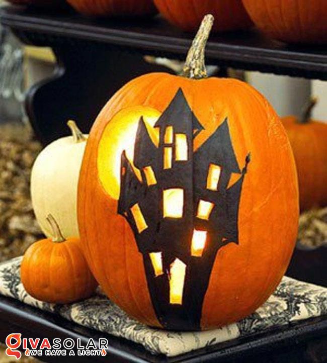 ý tưởng trang trí và khắc bí ngô đáo đáo cho lễ Halloween 23
