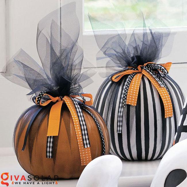 ý tưởng trang trí và khắc bí ngô đáo đáo cho lễ Halloween 29