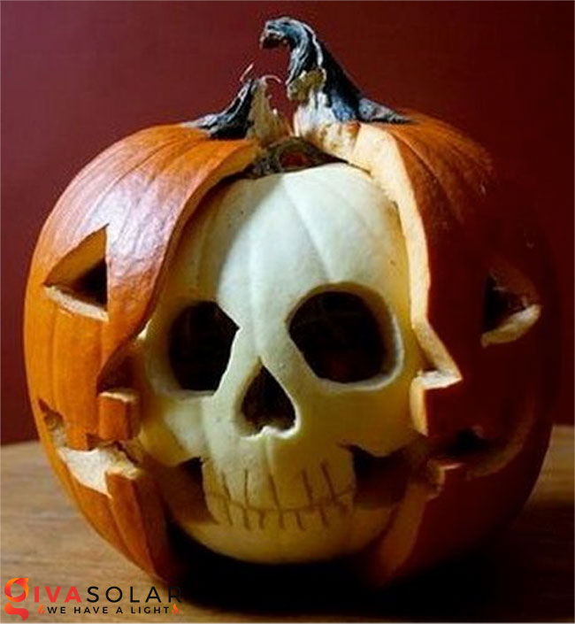 ý tưởng trang trí và khắc bí ngô đáo đáo cho lễ Halloween 32