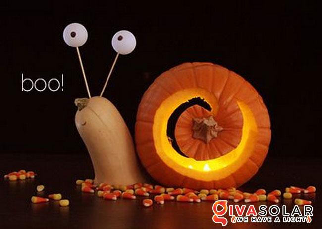 ý tưởng trang trí và khắc bí ngô đáo đáo cho lễ Halloween 40