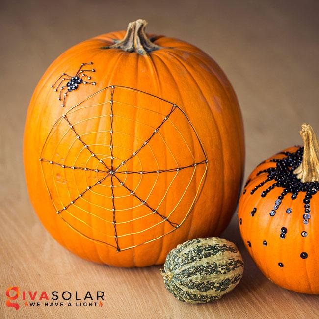 ý tưởng trang trí và khắc bí ngô đáo đáo cho lễ Halloween 42