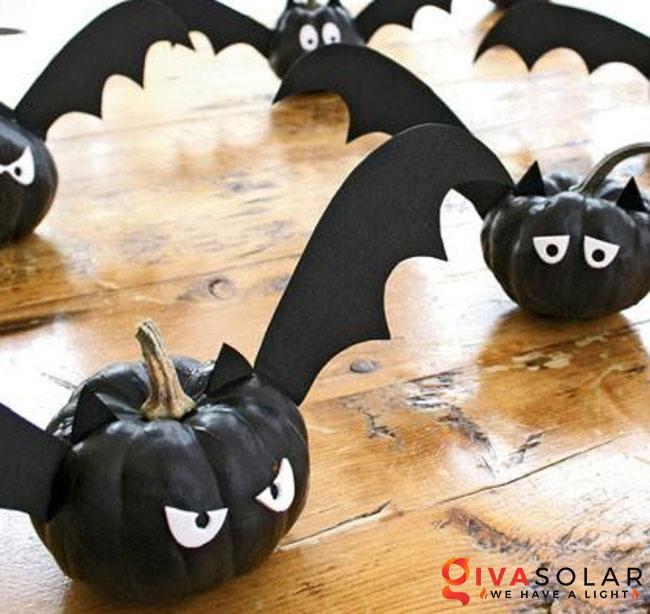 ý tưởng trang trí và khắc bí ngô đáo đáo cho lễ Halloween 43