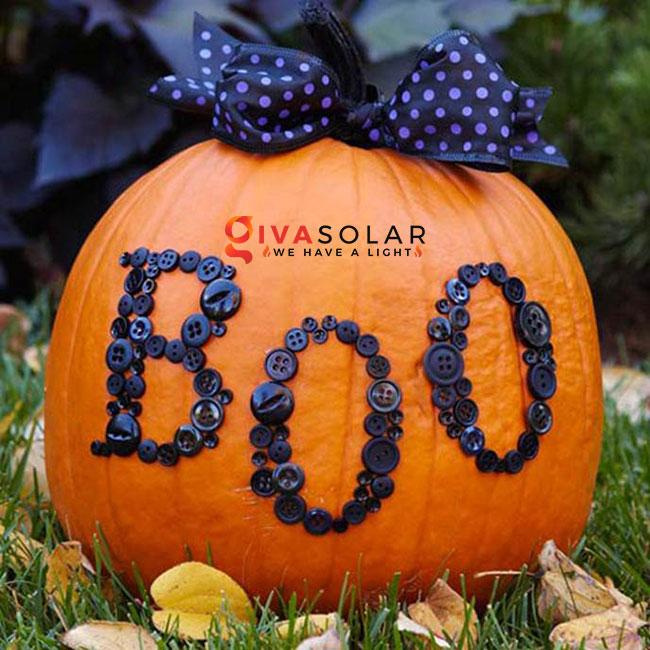ý tưởng trang trí và khắc bí ngô đáo đáo cho lễ Halloween 44