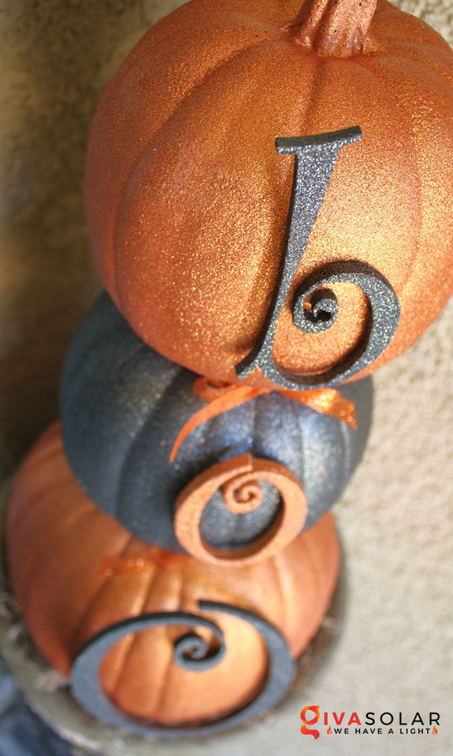 ý tưởng trang trí và khắc bí ngô đáo đáo cho lễ Halloween 8