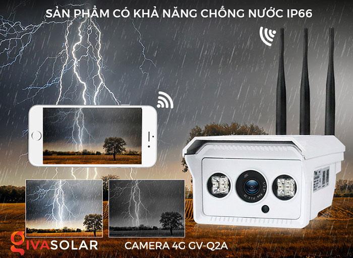 Camera sử dụng năng lượng mặt trời 4g GV-Q2A 11
