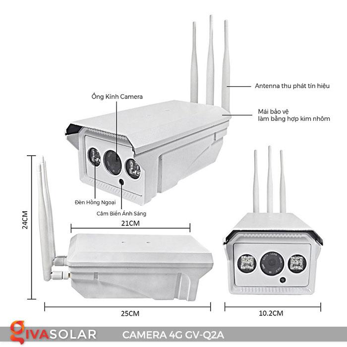 Camera sử dụng năng lượng mặt trời 4g GV-Q2A 4