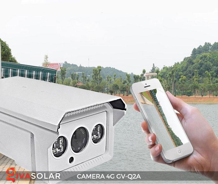 Camera sử dụng năng lượng mặt trời 4g GV-Q2A 5