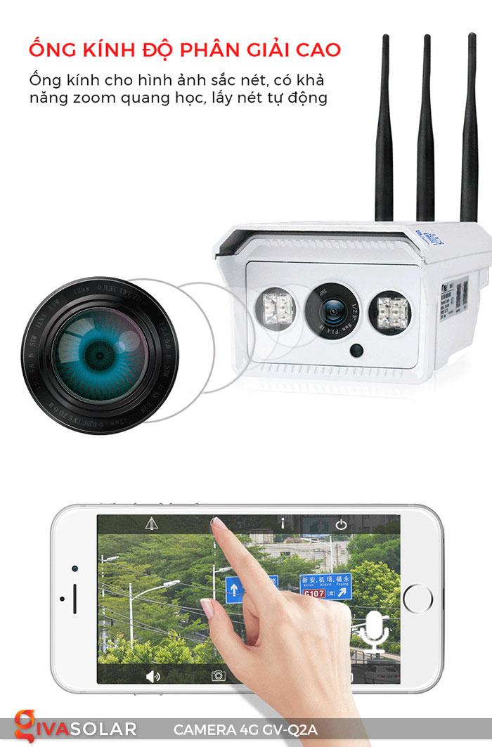 Camera sử dụng năng lượng mặt trời 4g GV-Q2A 6