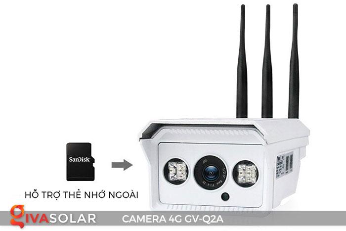 Camera sử dụng năng lượng mặt trời 4g GV-Q2A 7