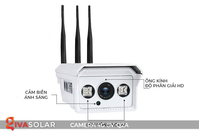 Camera sử dụng năng lượng mặt trời 4g GV-Q2A 8