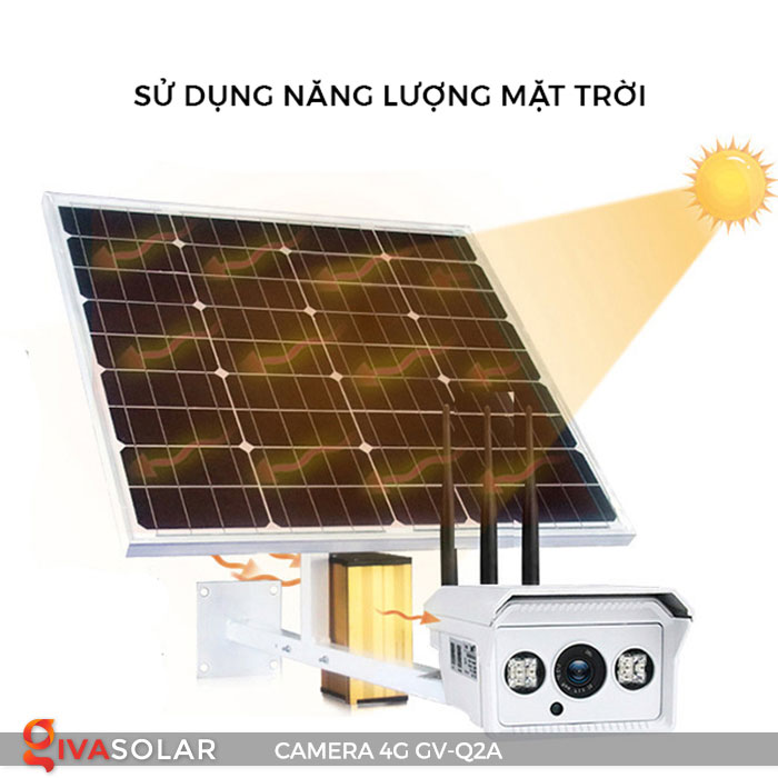 Camera sử dụng năng lượng mặt trời 4g GV-Q2A 9