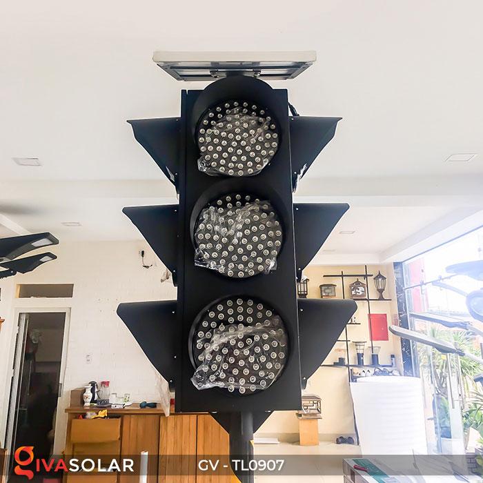 Đèn báo giao thông năng lượng mặt trời GV-TL0907 12