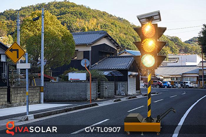 Đèn báo giao thông năng lượng mặt trời GV-TL0907 4