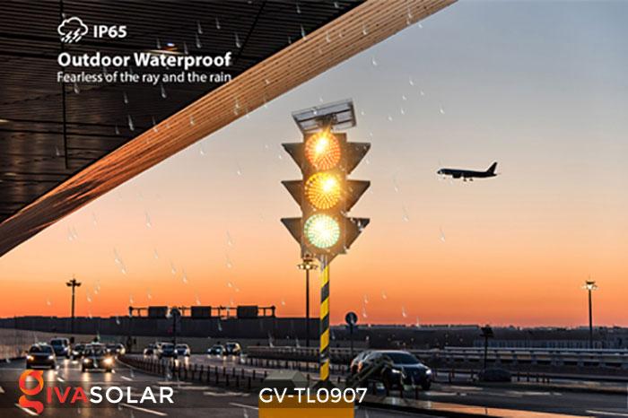 Đèn báo giao thông năng lượng mặt trời GV-TL0907 5