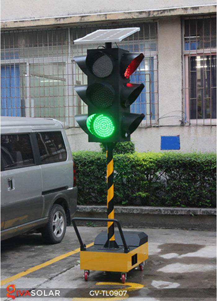 Đèn báo giao thông năng lượng mặt trời GV-TL0907 7